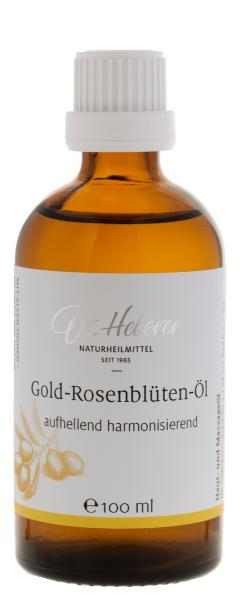 Gold-Rosenblüten